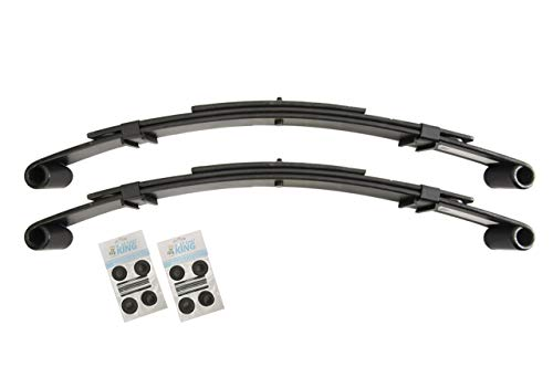 Price comparison product image EZGO TXT 1996-2009 Golf Cart Rear Heavy Duty Leaf Spring Kit