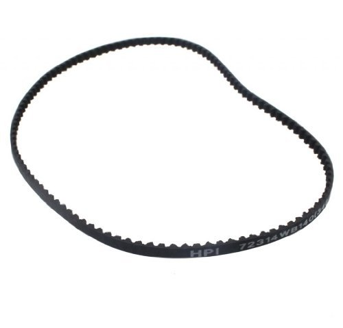 HPI 1/18 Micro RS4 116 TOOTH DRIVE BELT 140mm 116T gear pulley differential by HPI - Hpi Rs4 Micro