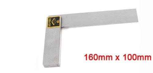 DealMux Woodwork Medição Ângulo Régua chanfrado borda quadrada 160 milímetros x 100 mm Escala