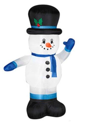 Amazon.com: 7 ft hinchable fiestas de navidad muñeco de ...