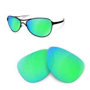 Warden Polarizadas Sapphire de Recambio Lentes Sunglasses Oakley Green para Restorer qTxRFFB