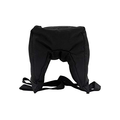 Ationgle Camera Lean Bean Bag, Multi-Purpose Support Sandbag, Camera Support Bag for Car Window, Durable Zipper, 600D Oxford Fabric, Black from Ationgle