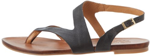 Miz Mooz Women's Rio Gladiator Sandal,Black,40 EU/9.5 M US
