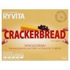 Ryvita Whole-Grain Cracker-Bread 125g - Pack of 6 by Ryvita