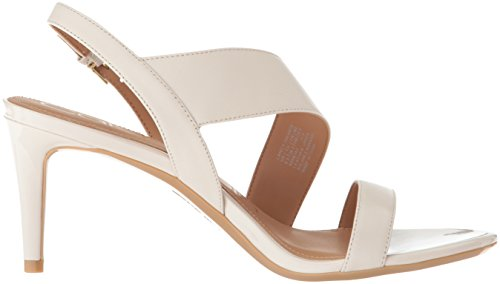 Soft Calvin Klein White Heeled Lancy Sandal Women's pwF8xwX