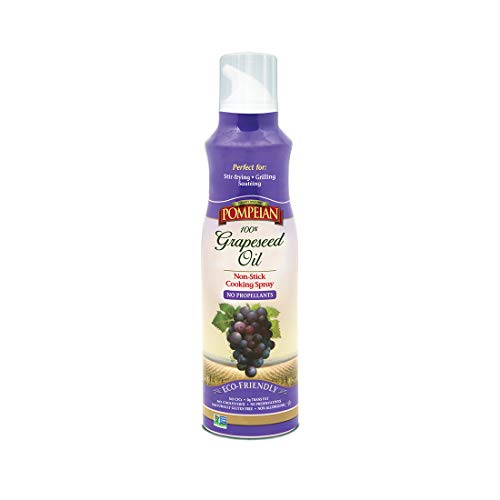 Pompeian Grapeseed Oil Cooking Spray - 5 Ounce