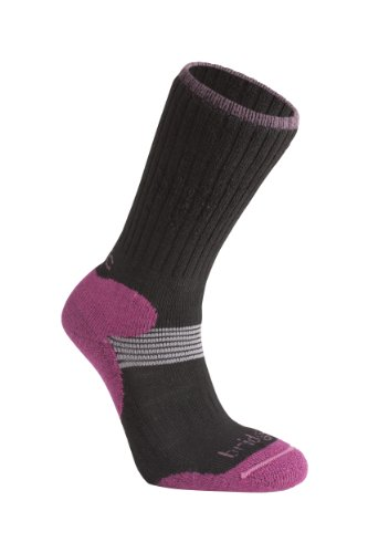 Bridgedale Women's Cross Country Ski Socks, Black, Small (Best Women's Cross Country Skis)