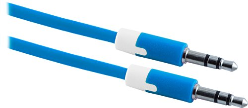 - Uber 13226 Audio Cable, 3.5mm, 3-Feet, Blue