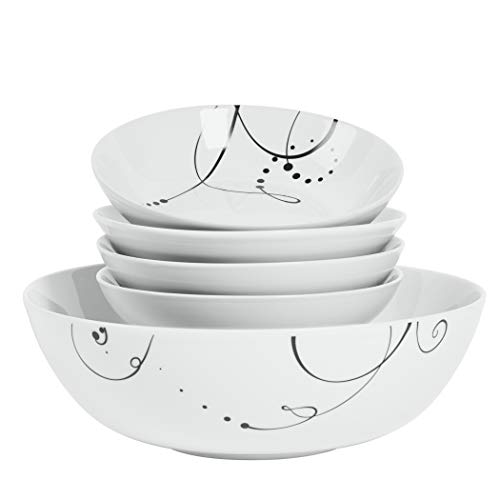Pescara 5 Piece Serving Bowl Set