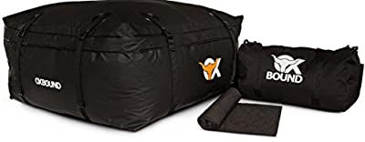 OXBOUND Cargo Roof Bag | Waterproof Car Top Carrier