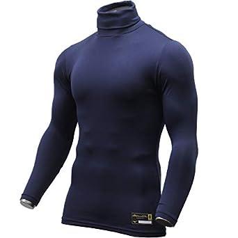 cc59505b6cdf26 ミズノ 限定 ウェア ミズノプロ バイオギア タートルネック アンダーシャツ ?袖 12JA8Q32 ネイビー(14) S