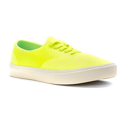 People Footwear Mens Stanley 3D Printed Mesh Galaxy Green Picket White 12 M