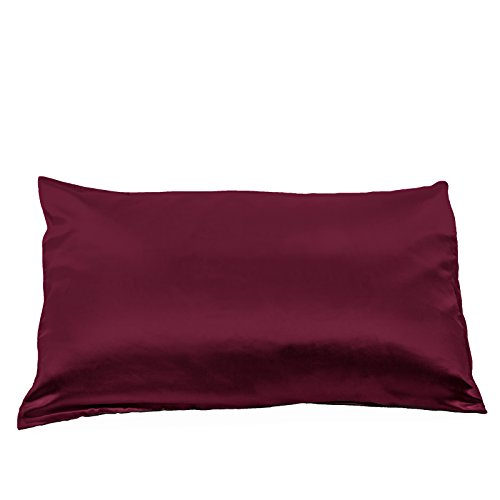 Fishers Finery 25mm Mulberry Queen Pillowcase Burgundy
