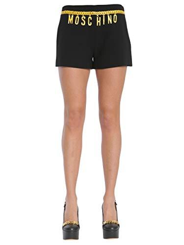 Acetato Nero Shorts Donna A031504243555 Moschino zwtOn7IdqW