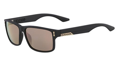 - Dragon Sunglasses DRAGON DR 512 SI COUNT ION 008 MATTE BLACK WITH ROSE GOLD LENS