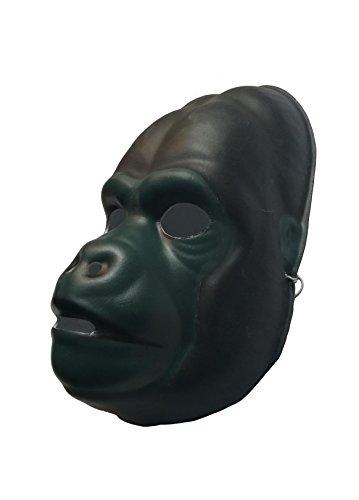 Mask Adult Costumes Chimpanzee (FixtureDisplays Used Chimpanzee PVC Mask Costume Accessory Child KidsAdult Animal Holloween)