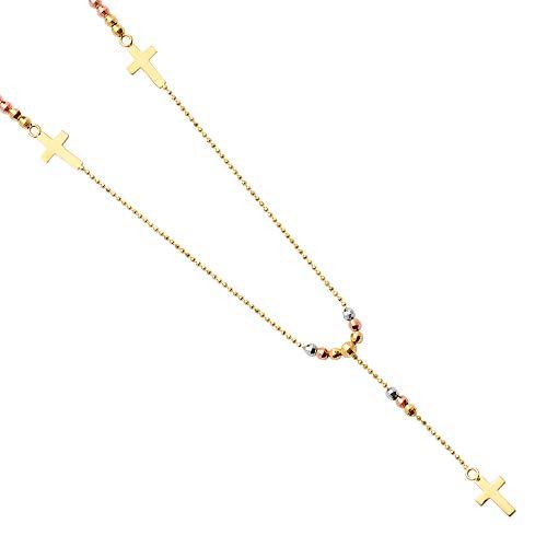 FB Jewels 14K Rose White...