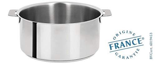 Cristel s4cq Stainless Steel Saucepan Mutine amovible