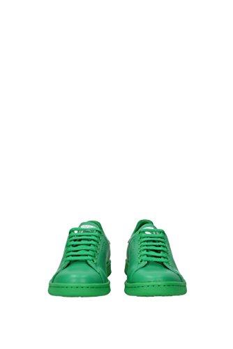 Sneakers Vert Cuir Unisex Adidas 38eu S74592rafsimonsstansmith wYZqfxFnYB