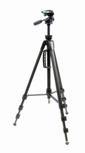 ProMaster 7450 Speedi-Lift Tripod 4-Section Tripod with 3-way Pan Head by ProMaster