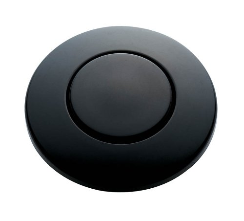 (InSinkErator STC-MTBLK SinkTop Switch Push Button, Matte Black)