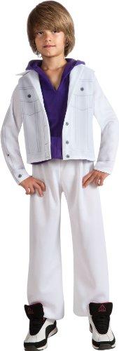 [Bieber Fever Justin Bieber Costume - Large] (Singer Fancy Dress Costumes)