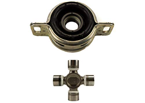 OEM Tacoma Driveshaft Center Support Kit: 37230-0K030 Center Bearing, 04371-0430 U-Joint