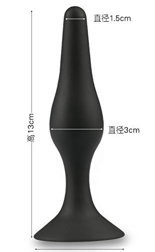 Jiamusi JMS Anus spa Beads Silica Gel Male Female Adult Sexy Products Silica Gel Black Pendant.