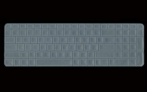 Saco Chiclet Keyboard Skin for HP Notebook dv6 6165tx Laptop   Transparent