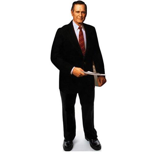 Wet Paint Printing + Design H25041V2 George H. W. Bush Senior Cardboard Cutout Standup (Bush Cardboard Cutout)