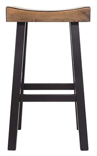 Ashley Furniture Signature Design - Glosco Barstool Set - Pub Height - Vintage Casual - Set of 2 - Two-tone