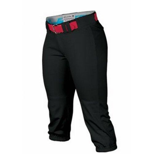 men's Baseball Clothing Pants Fastpitch, Black ()