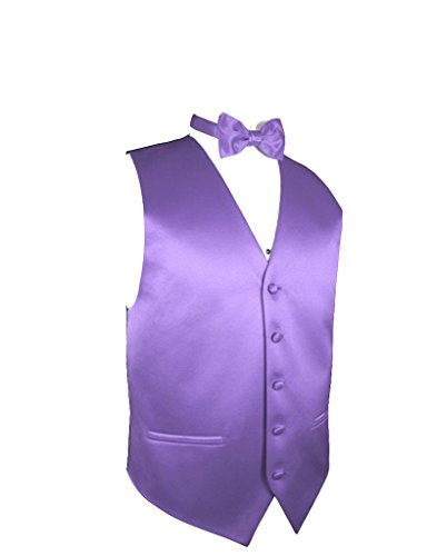 - Exclusive Distributor Vest & Bow Tie Set- Lavender XL-10-H