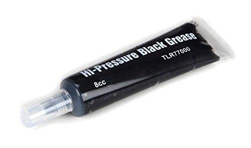 Team Losi Racing High-Pressure Black Grease, 8cc, TLR77000