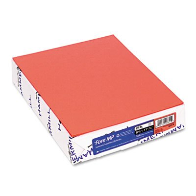 Hammermill Colors Salmon, 20lb, 8.5x11, 500 Sheets/1 Ream - Cardstock Hammermill