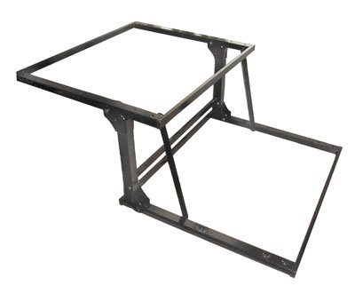 (Selby Spring-Assisted Pop-Up Table - Black)