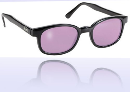 X KD's Sunglasses Purple Lens Motorcycle Sunglasses Large Size - Sunglasses Site