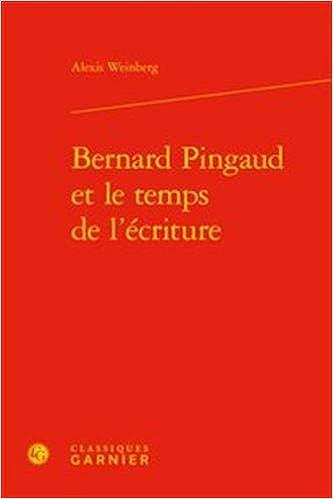 Bernard Pingaud temps