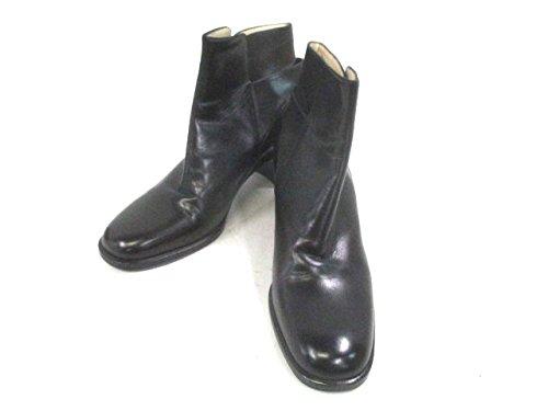 (バリー) BALLY ブーツ レディース 黒 【中古】 B07DK8D21D  -