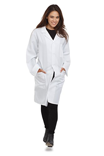 Dress up America Adults Unisex Doctor Lab Coat, White, Large ()