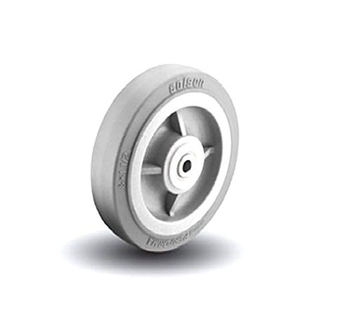 NEW Colson 8'' x 2'' Soft Gray Performa Non Marking Wheel and Bearing 5-8-449 by Encore / Hi-Tech / Performa