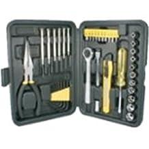 """Qvs Technician's Tool Kit . Black """"Product Type: Hardware & Tools/Tool Kits"""""""