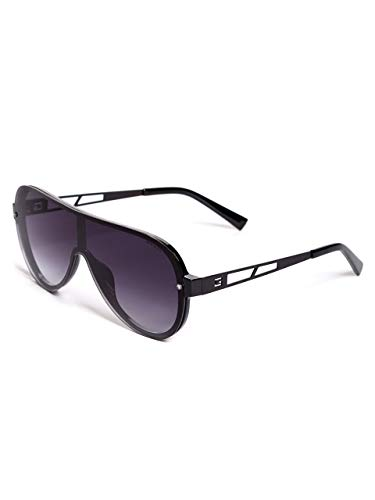 GUESS GF5028 Shiny Black/Smoke Gradient Lens One ()