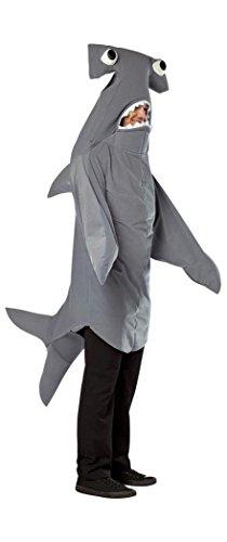 Rasta Imposta one size - Hammerhead Shark Adult Costume,Multicolored for $<!--$50.50-->