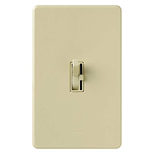 Lutron AYCL-153PH-IV 120 Volt at 60 Hz 1-Pole 3-Way Preset Dimmer Ivory Clamshell Pack Ariadni CL