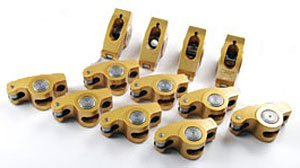 (Crane Cams 10750-12 Gold Race 1.5 Ratio Rockers for 3/8
