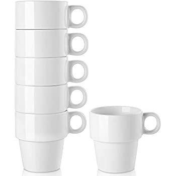 Amazon Com Lifver 16 Ounce Stackable Coffee Mug Larger