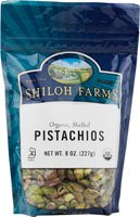 Shiloh Farms Organic Shelled Pistachios -- 8 oz