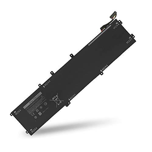 BatteryMon Battery 6GTPY 5XJ28 for Dell Precision M5520 / XPS 15 9550 9560 Series Laptop - 11.4V 97Wh ()