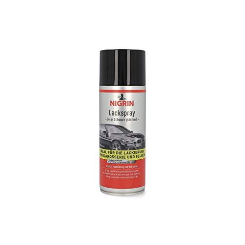 NIGRIN 74113 Kleur Spray Paint – Zwart Glans